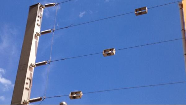 张力式电子围栏应用