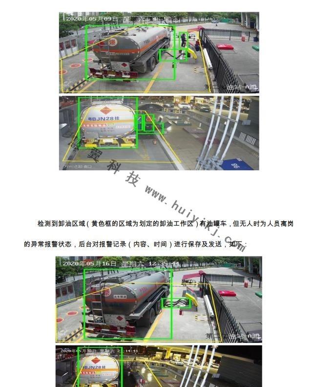 加油站危险行为事件检测方案