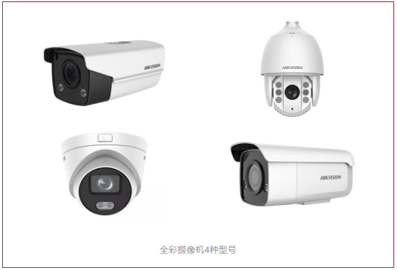 全彩智能警戒摄像机