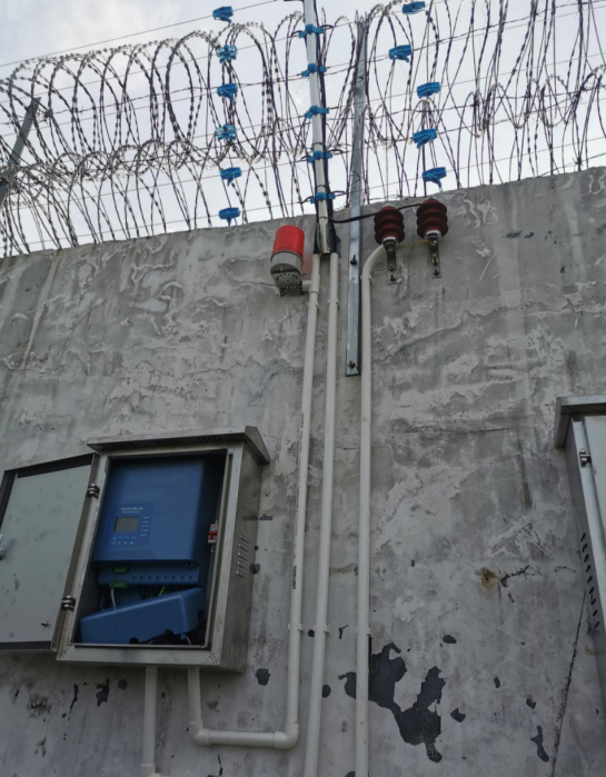 高铁电子围栏系统安装