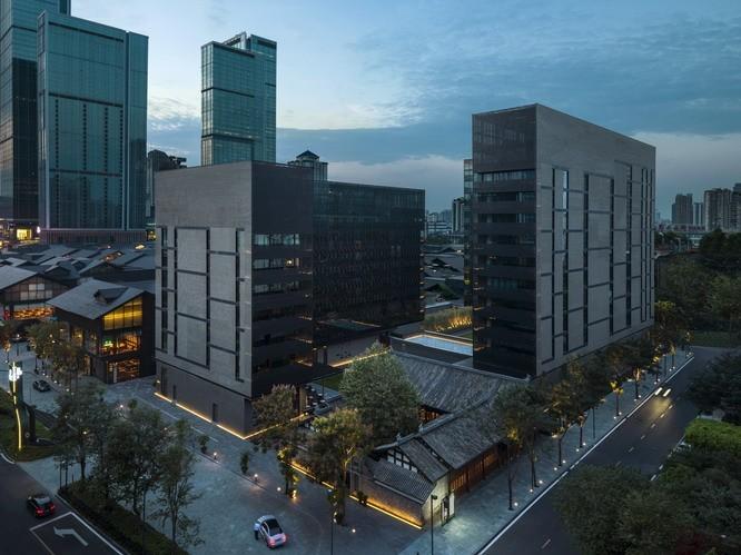 成都太古博舍酒店数字电视前端系统设备采购