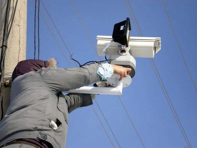 无线监控摄像头安装