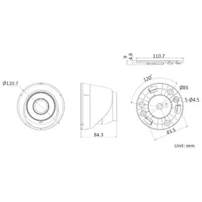 DS-IPC-T13H-IA(POE)外形尺寸