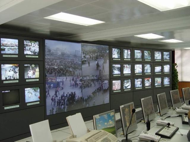 安防监控系统控制中心