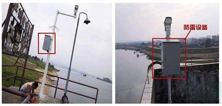 摄像机防雷保护应用