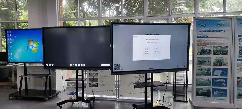 智能交互会议平板安装
