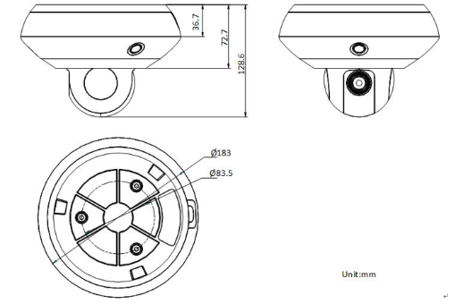 DS-2DC5326IZ-D外形尺寸