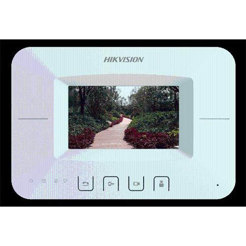 海康威视可视对讲 DS-KHJ-301 4.3寸按键式室内机