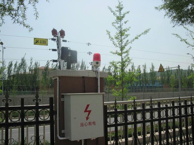电子围栏周界报警系统应用