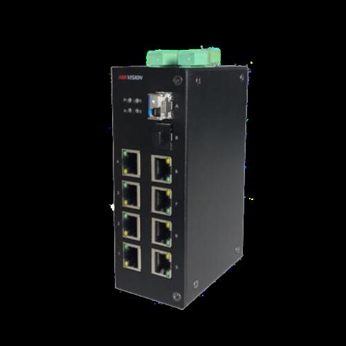 海康威视 DS-3D08系列 8口百兆光纤收发器