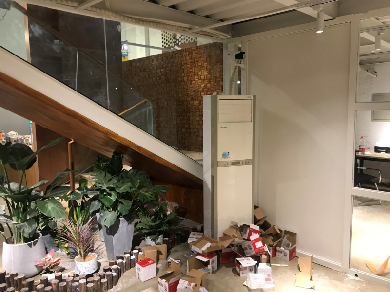 咖啡培训机构监控安装