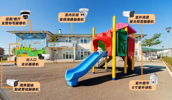 幼儿园视频监控解决方案