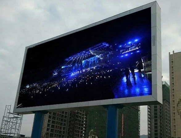 LED显示屏支撑式安装
