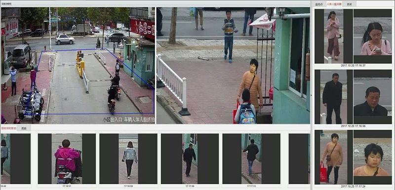 海康威视智能全局摄像机目标抓拍模式