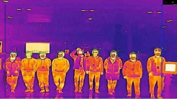 海康威视测温效果