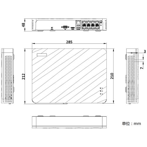 DS-7100N-F1/xP(C)