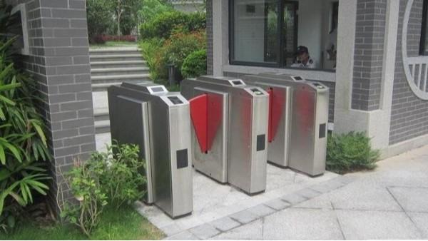 小区门禁系统设备安装
