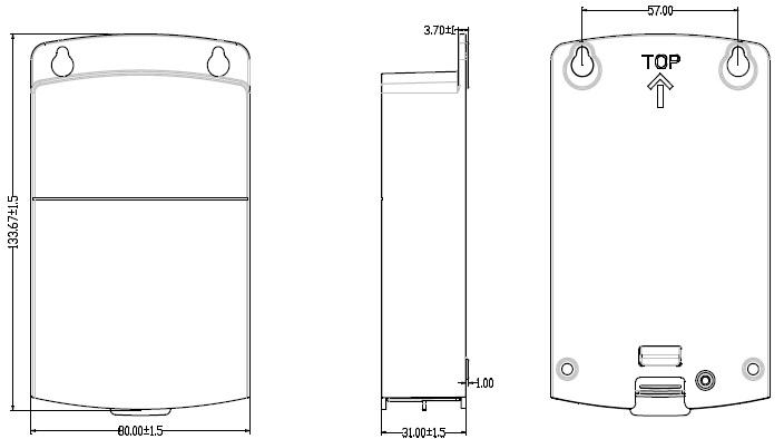 DS-2CD7T47DWD-IZ(S)(GL)(W)(B)外形尺寸