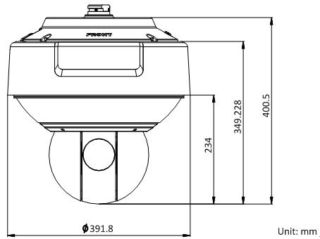 DS-2DF8225IH系列外形尺寸