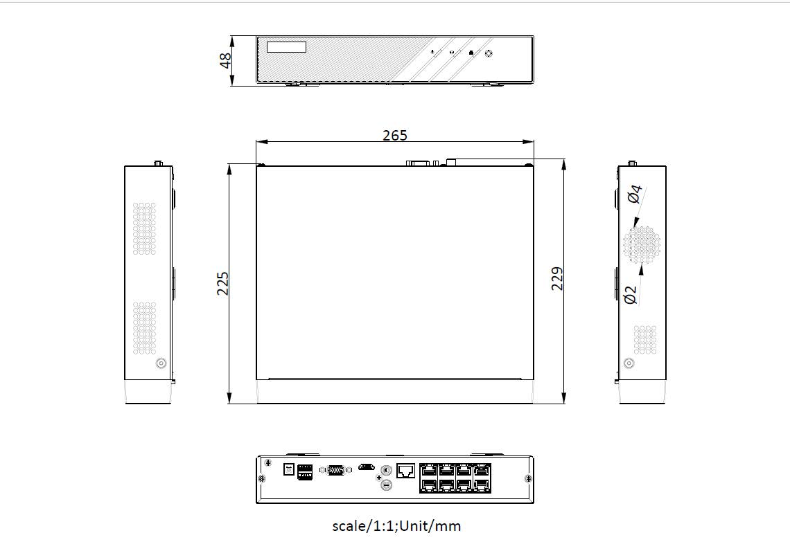 网络硬盘录像机