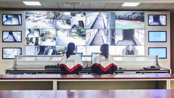 校园视频监控中心