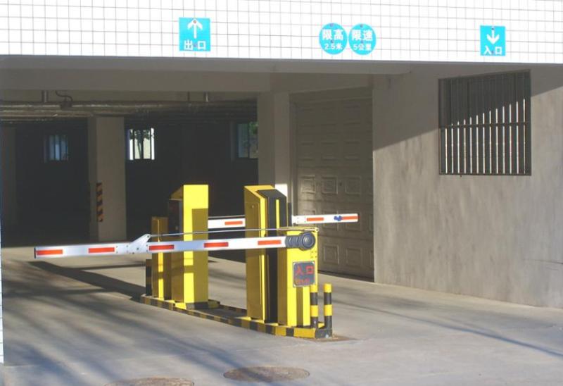 停车道闸系统应用