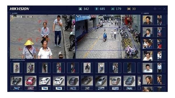 海康威视合智能全彩全局摄像机