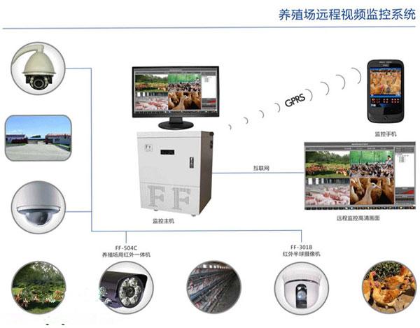 养殖场远程视频监控系统