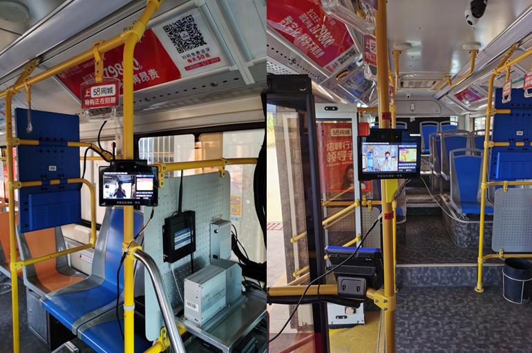 公交智能测温设备