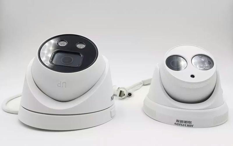 海康威视智能警戒海螺型摄像机