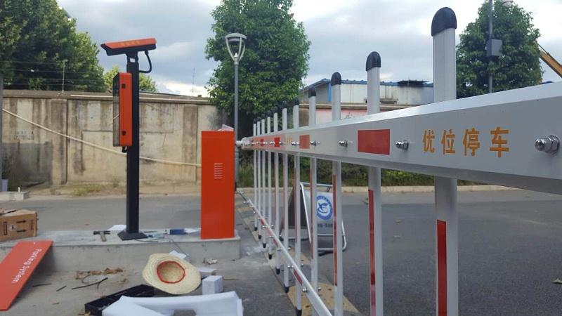 道闸设备安装