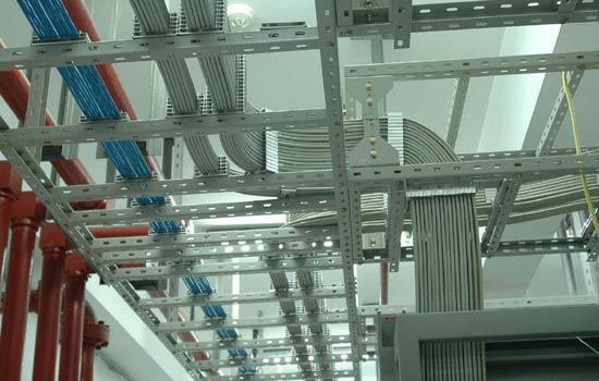 机房建设电缆铺设