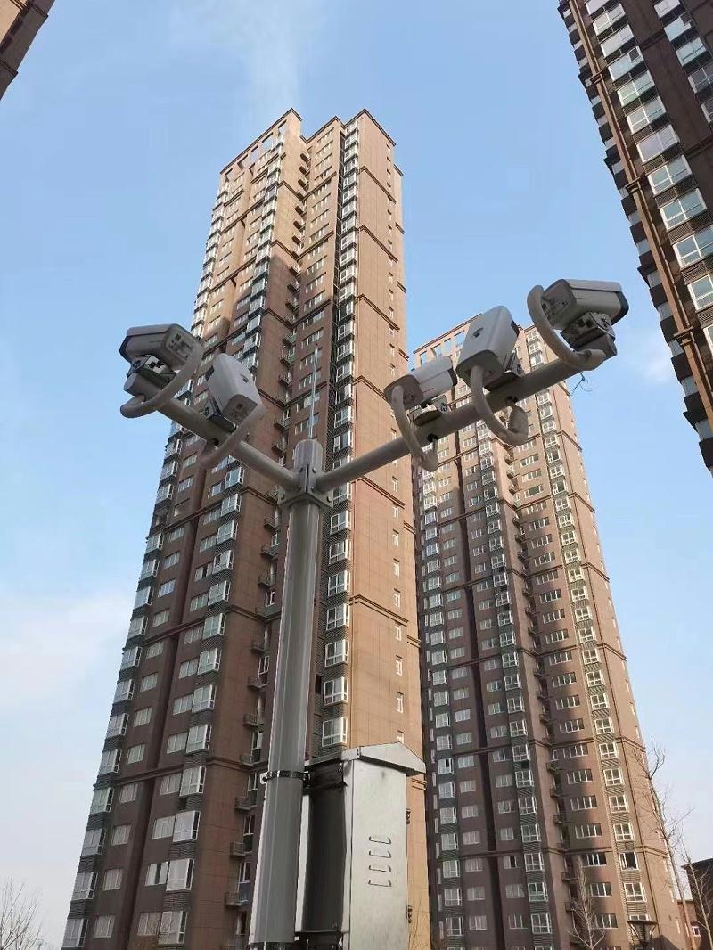 高空抛物监控摄像头安装