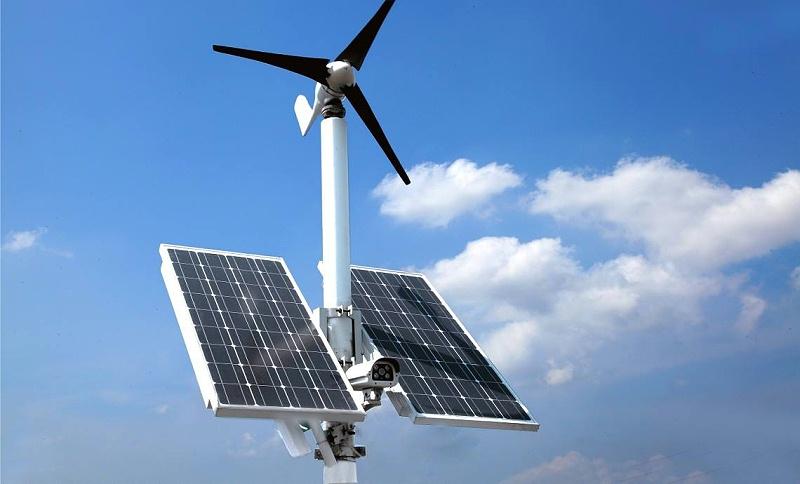 远程监控太阳能供电应用