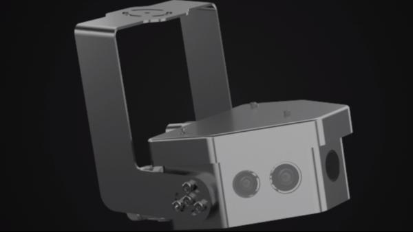 矿用本安型全景拼接摄像机