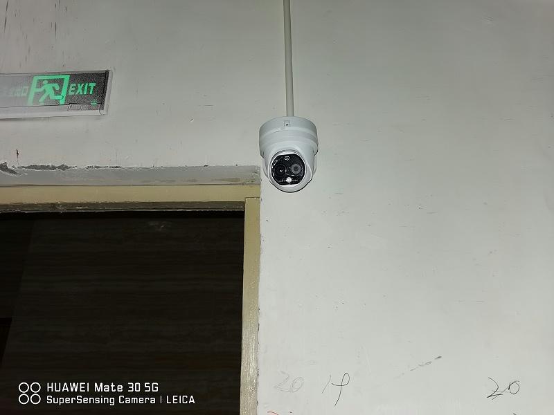 启雅尚国际酒店测温系统安装