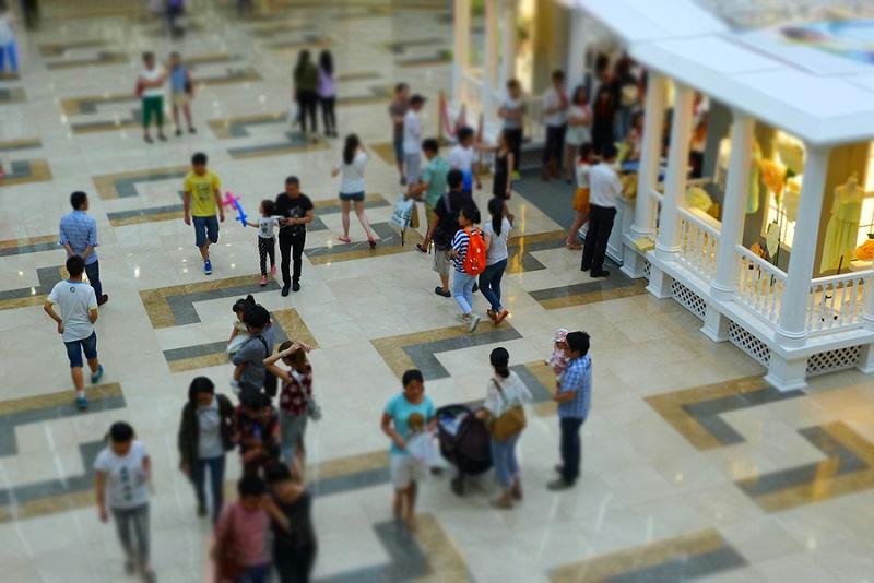 商场客流量统计