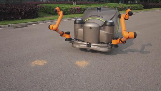 智能环卫机器人