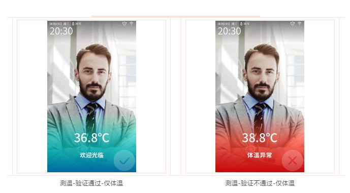 体温检测人脸门禁系统