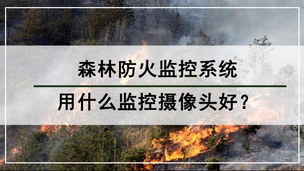 森林防火监控系统用什么监控摄像头好