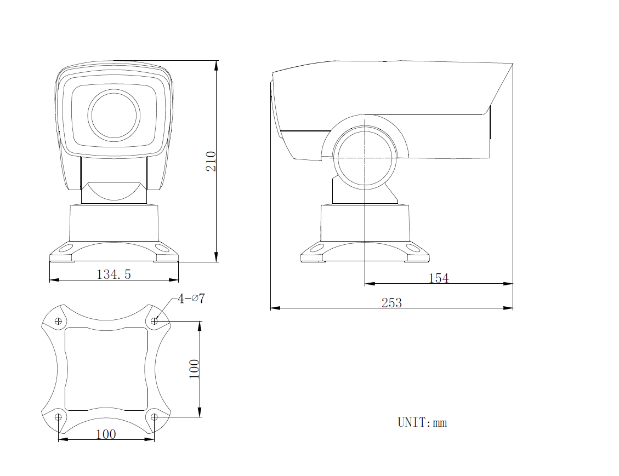 AI摄像机结构图