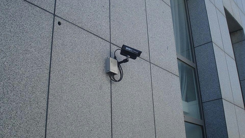 室外监控摄像头安装